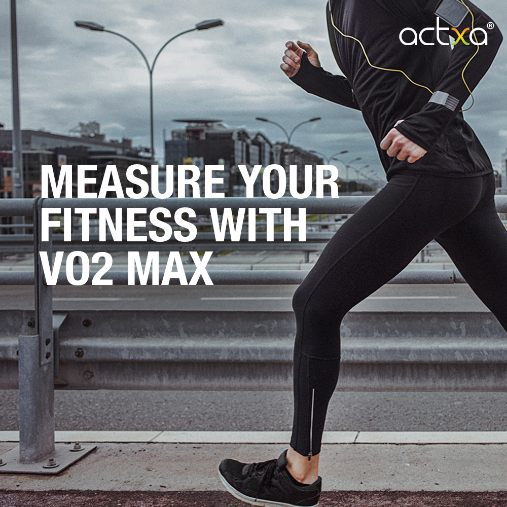 Measure your fitness with VO2 Max