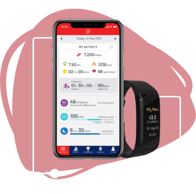 LIF App Screen and Spur+